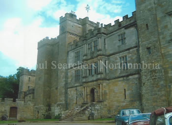 Chillingham Castle in Northumberland